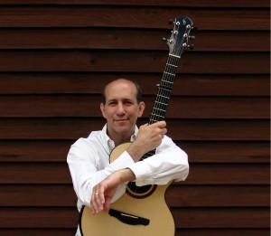 Fingerstyle gitarist Gilewitz in Soest