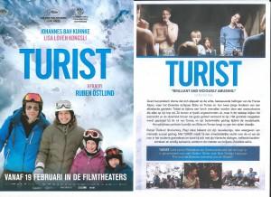 Bezoekers CineSingle enthousiast over Turist