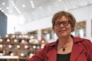 Karin Horst: gezicht van bibliotheek Eemland