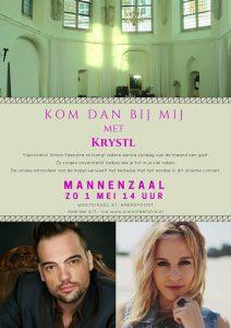 Win vrijkaartjes voor concert Simon Feenstra en Krystl