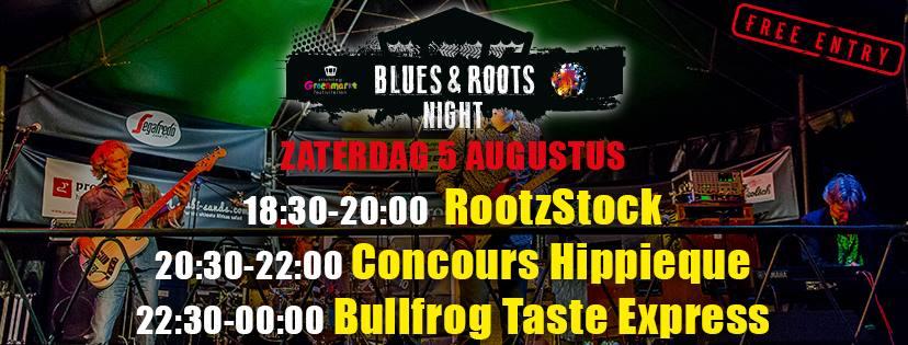 Blues & Roots Night @ Groenmarkt