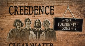 A Tribute to Creedence Clearwater Revival By The Fortunate Sons (USA) @ De Flint | Amersfoort | Utrecht | Nederland