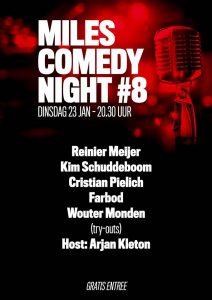 Miles Comedy Night #8 @ Café Miles | Amersfoort | Utrecht | Nederland
