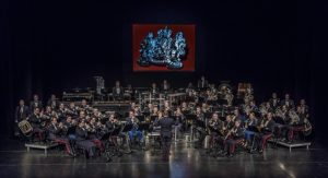 Fanfare Korps Nationale Reserve Korpsconcert o.l.v. Chef-dirigent kapitein Harrie Wijenberg @ De Flint | Amersfoort | Utrecht | Nederland