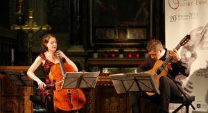 Duo Gross/Lucini (cello en gitaar) @ St Aegtenkapel | Amersfoort | Utrecht | Nederland