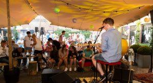 Kampvuurconcert met streetfood (excl. dranken) Songwriters Gilde Amersfoort & Flint @ Flint | Amersfoort | Utrecht | Nederland