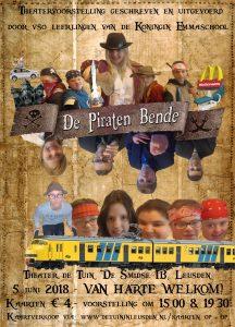 """""""De piratenbende"""" - kindervoorstelling"""