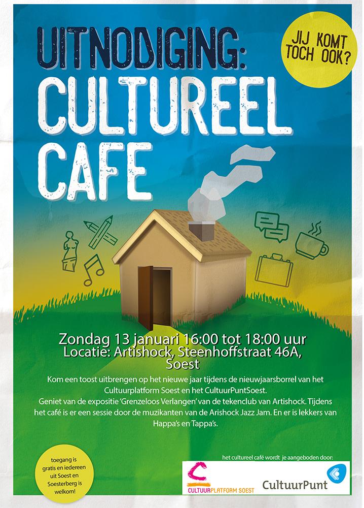 Cultureel Café @ Artishock | Soest | Utrecht | Nederland