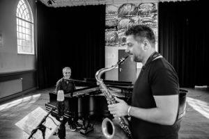 Jeroen van Vliet & Mete Erker live CD opname @ Beauforthuis | Austerlitz | Utrecht | Nederland