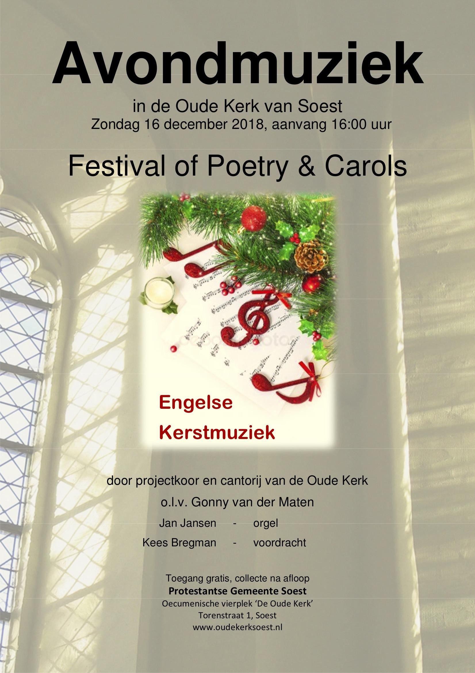 Festival of Poetry & Carols @ Oude Kerk | Soest | Utrecht | Nederland