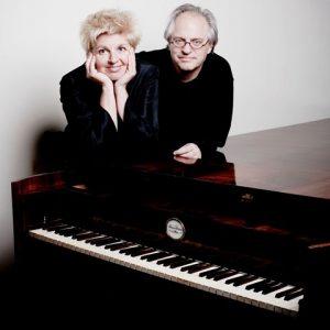 Pianoduo Wyneke Jordans & Leo van Doeselaar Feest met vier handen @ Sint Aegtenkapel