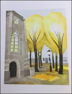 Lezing Annette Fienieg: kinderboek-illustraties in sjabloontechniek @ Galerie De Ploegh