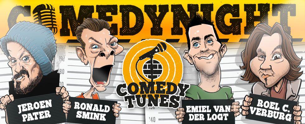 ComedyTunes ComedyNights @ Fluor-Café