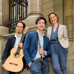 Izhar Elias (gitaar), Levan Tskhadadze (klarinet) & Henriette Feith (sopraan) @ Sint Aegtenkapel
