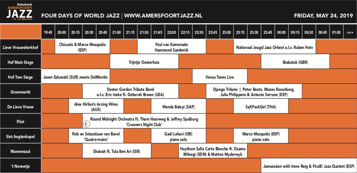 Rabobank Amersfoort Jazz @ Binnenstad