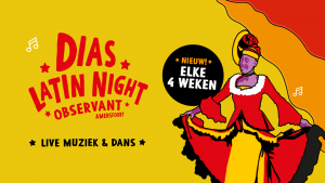 Dias Latin Night | CaboCubaJazz ft. Oscar Cordero @ De Observant