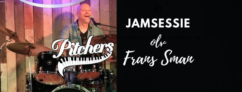Jamsessie olv Frans Sman @ Pitchers