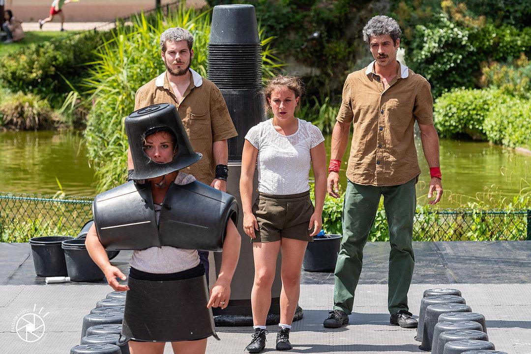TheaterTerras: Bigbinôme - Saut @ Speeltuinvereniging Kruiskamp