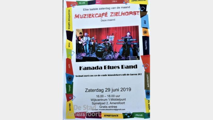 Kanada Bluesband @ Muziekcafé Zielhorst