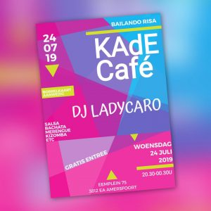 Latinfeest: DJ Lady Caro @ KAdECafé