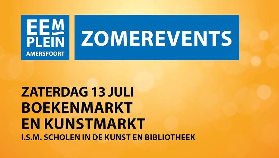 Boeken- en Kunstmarkt @ Eemplein