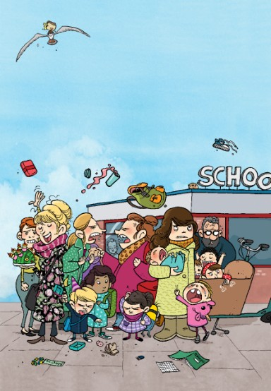 Meester Mark vertelt - Schoolpleinmoeders @ Bibliotheek Bunschoten