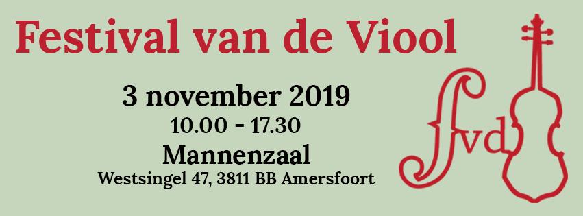 Festival van de Viool -ochtend- @ Mannenzaal