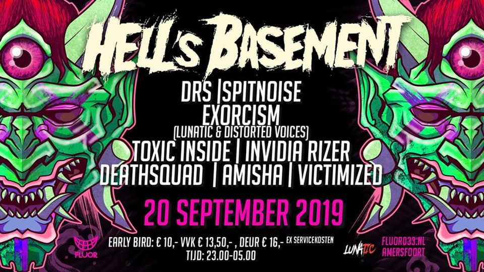 Hell's Basement - too hard to handle @ Fluor-Zaal