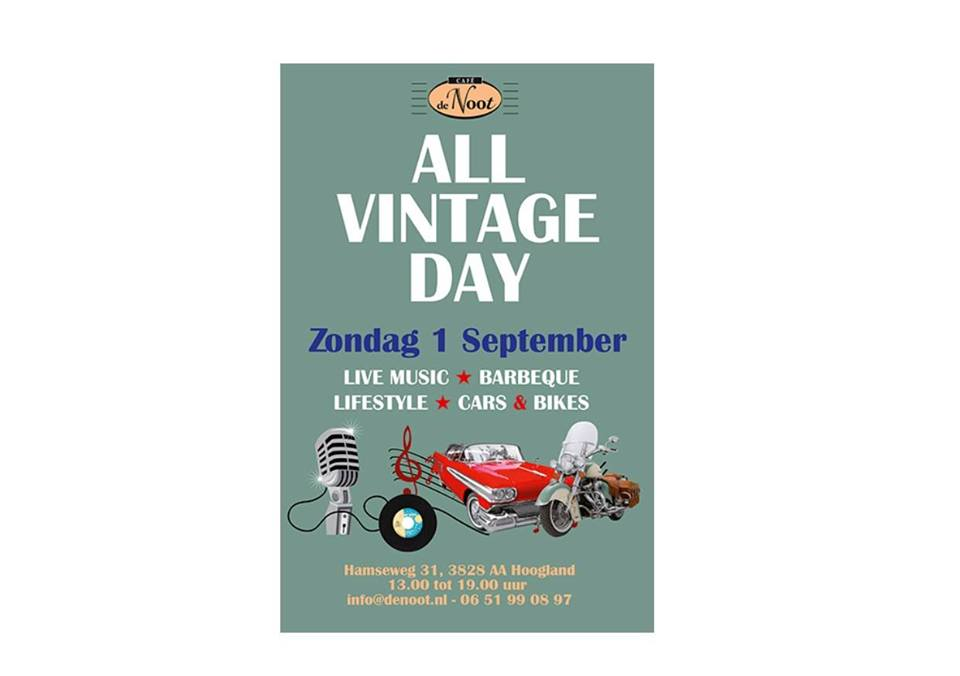 All Vintage Day @ Café de Noot