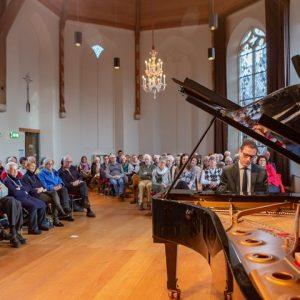 Wouter Harbers, piano, Reis door de tijd @ St Aegtenkapel