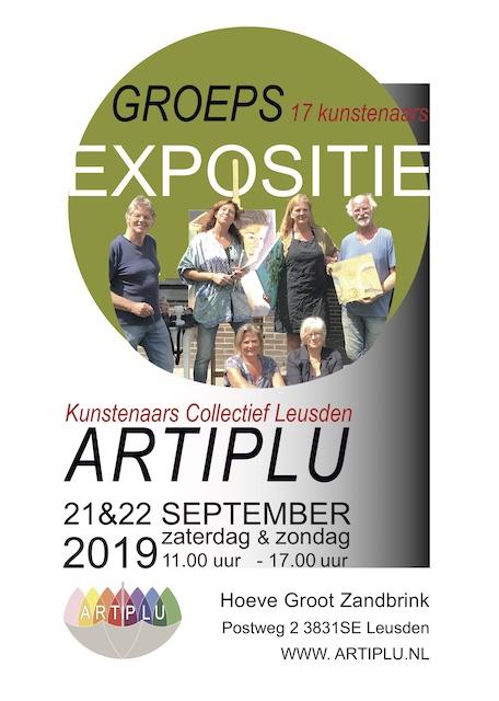 Artiplu groepsexpositie @ Hoeve Groot Zandbrink