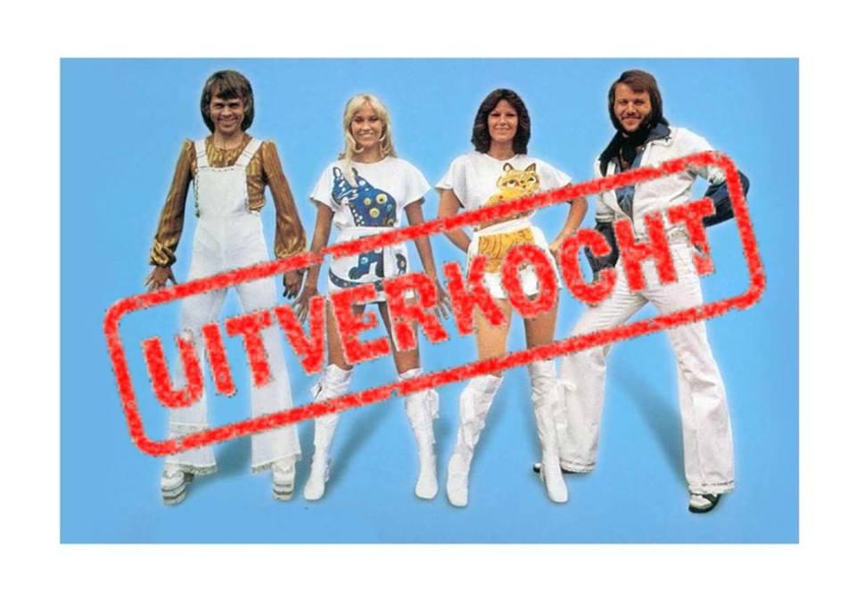 ABBA Tribute -uitverkocht- @ Café de Noot