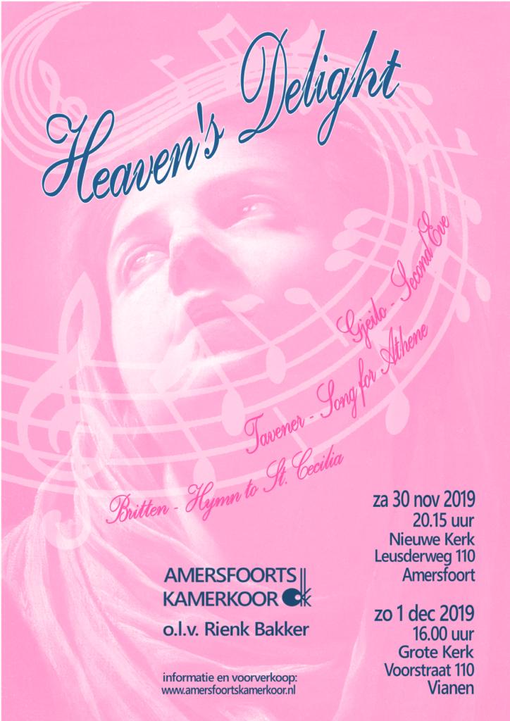 Amersfoorts Kamerkoor: Heaven's Delight @ Nieuwe Kerk