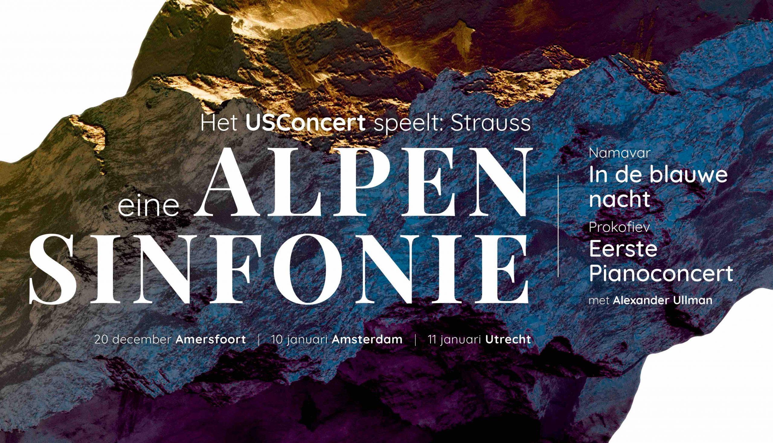 Utrechtsch Studenten Concert: Eine Alpensinfonie @ Sint Joriskerk