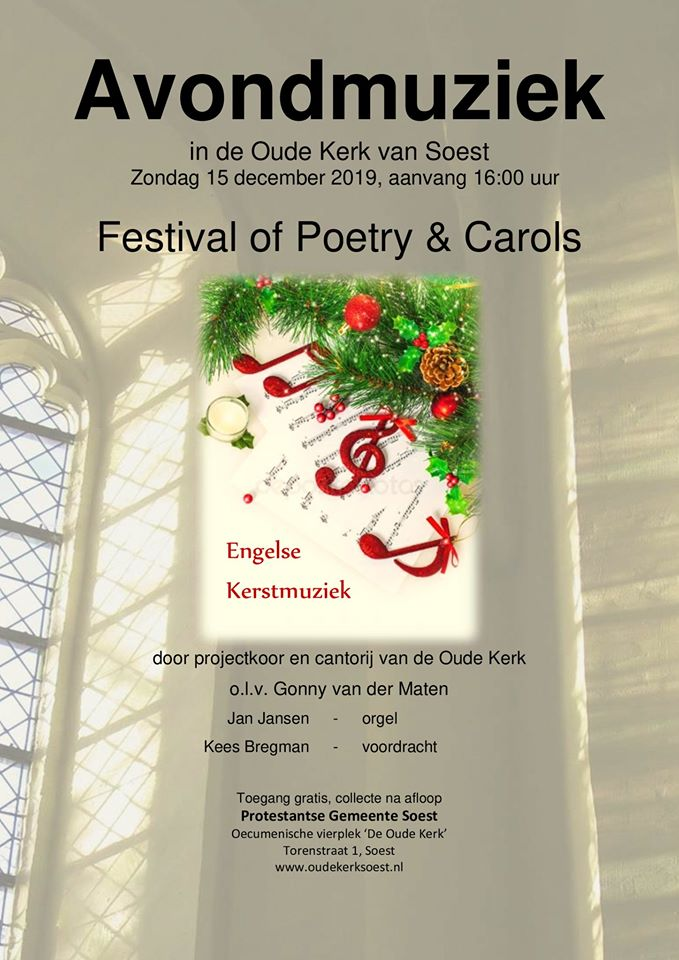Festival of Poetry & Carols @ De Oude Kerk