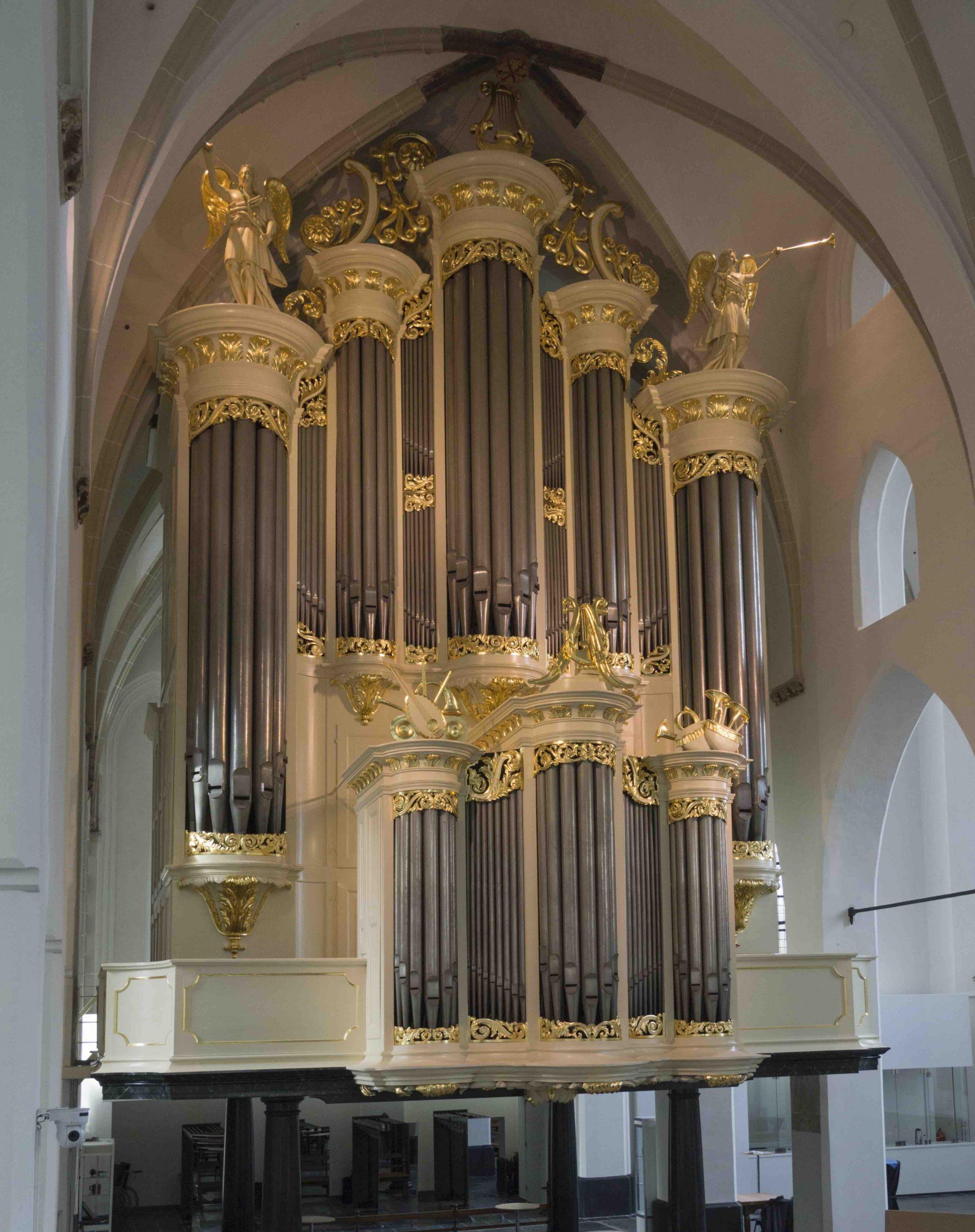 Kerstconcert op 3 orgels en beiaard @ Sint Joriskerk
