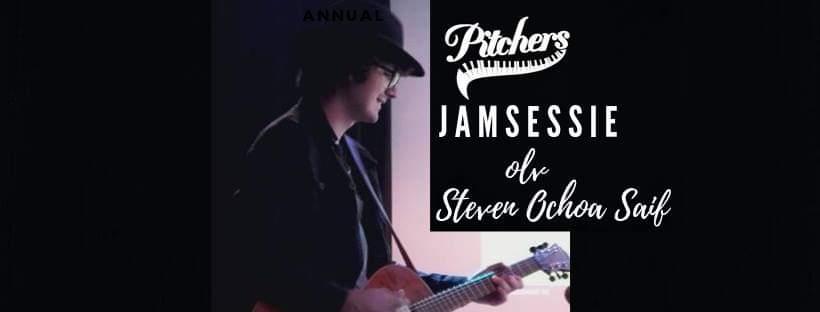 Jamsessie olv Steven Ochoa Saif @ Pitchers