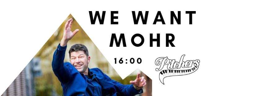 We Want Mohr! @ Pitchers