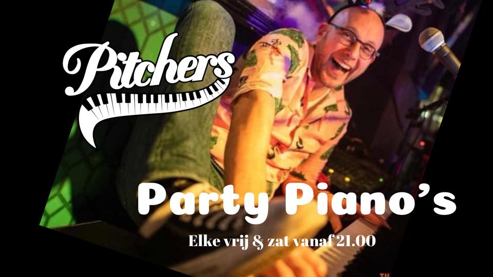 Party Piano's met Charles Willemse @ Pitchers