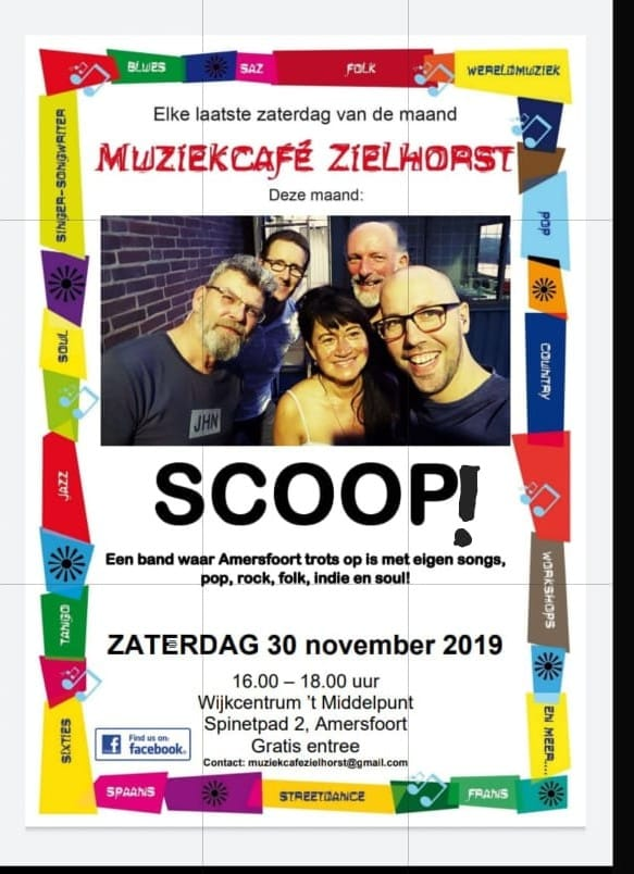 Scoop! @ Muziekcafé Zielhorst