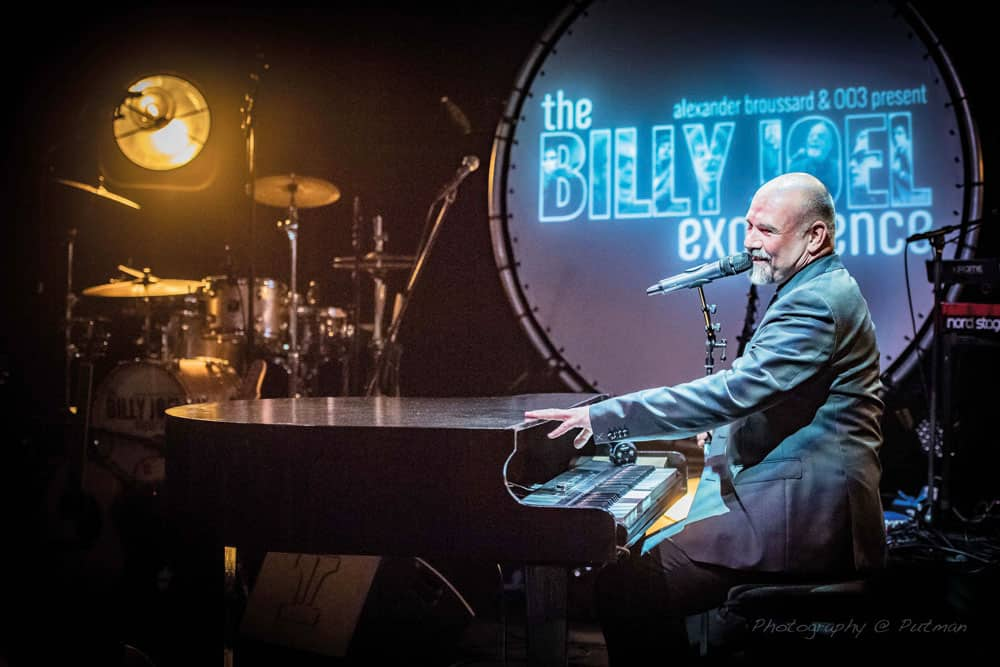 Alexander Broussard & 003: The Billy Joel Experience -uitverkocht- @ Theater De Tuin