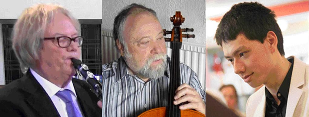 Henk de Graaf, Wladislav Warenberg, Martin Oei @ Kasteel Groeneveld