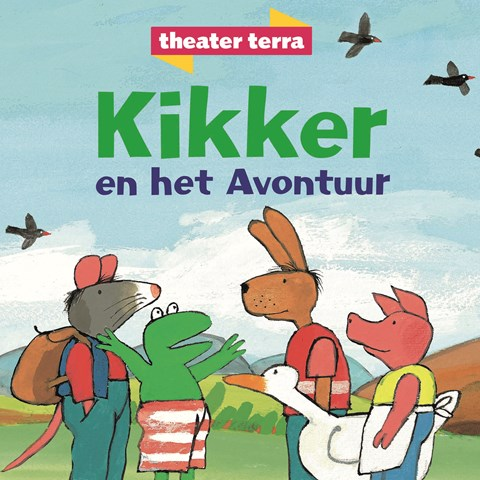 Kikker en het avontuur (4+) Theater Terra @ Flint