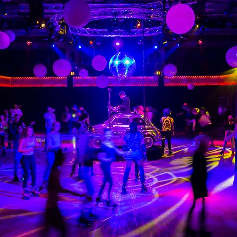 Rollerdisco Kids Edition Rolling home for Christmas -uitverkocht- @ Flint