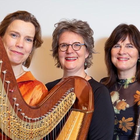 Henriëtte Feith (sopraan), Francien Post (fluit), Judith Jamin (harp) @ St Aegtenkapel