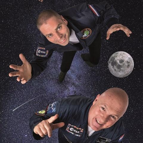André Kuipers en Sander Koenen: Space Academy live @ Flint