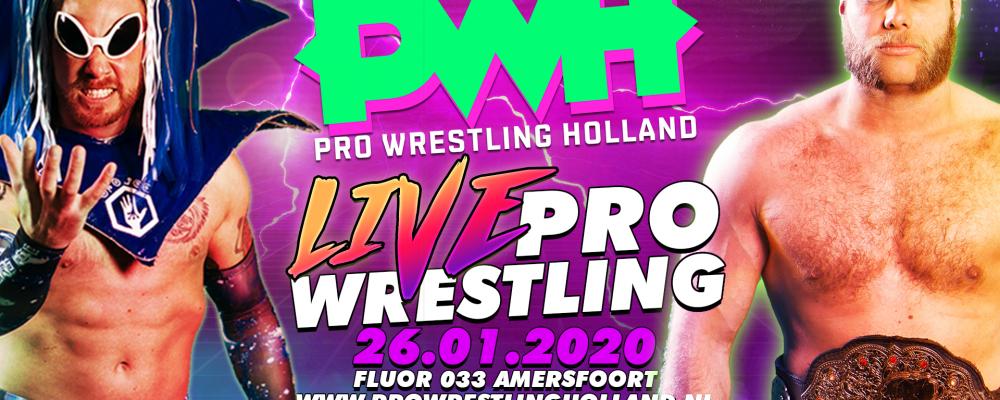 Pro Wrestling Holland @ Fluor-Zaal