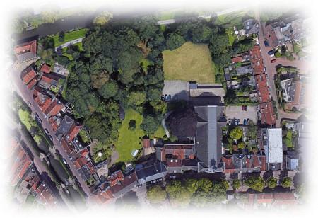 Groene plek achter 't Zand @ St Franciscus Xaveriuskerk