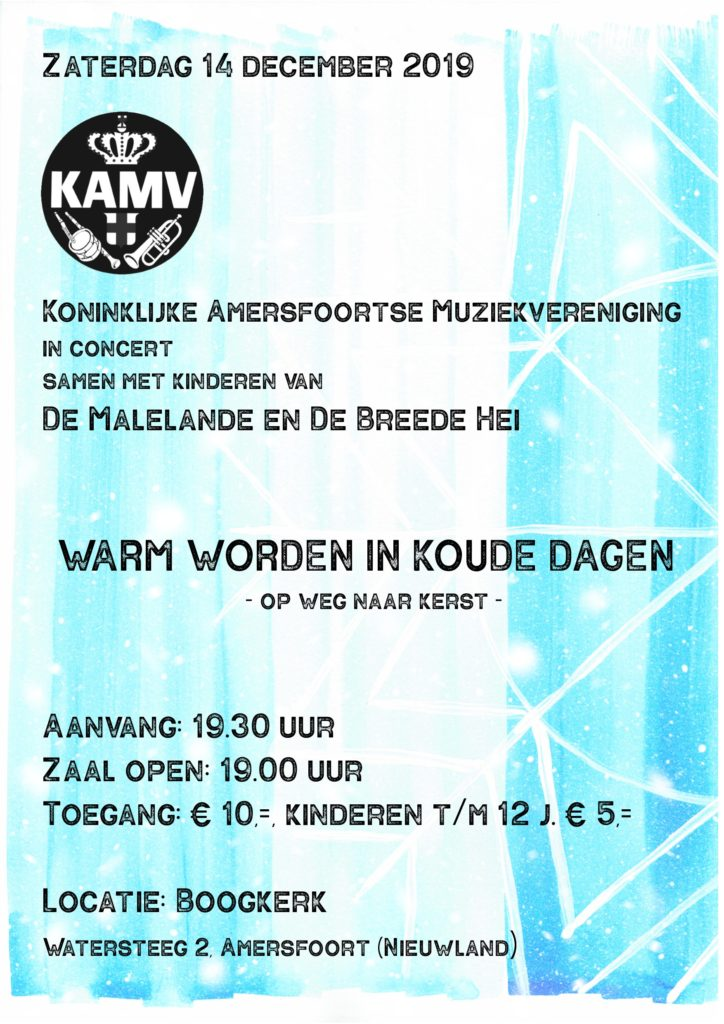 KAMV in concert @ Boogkerk