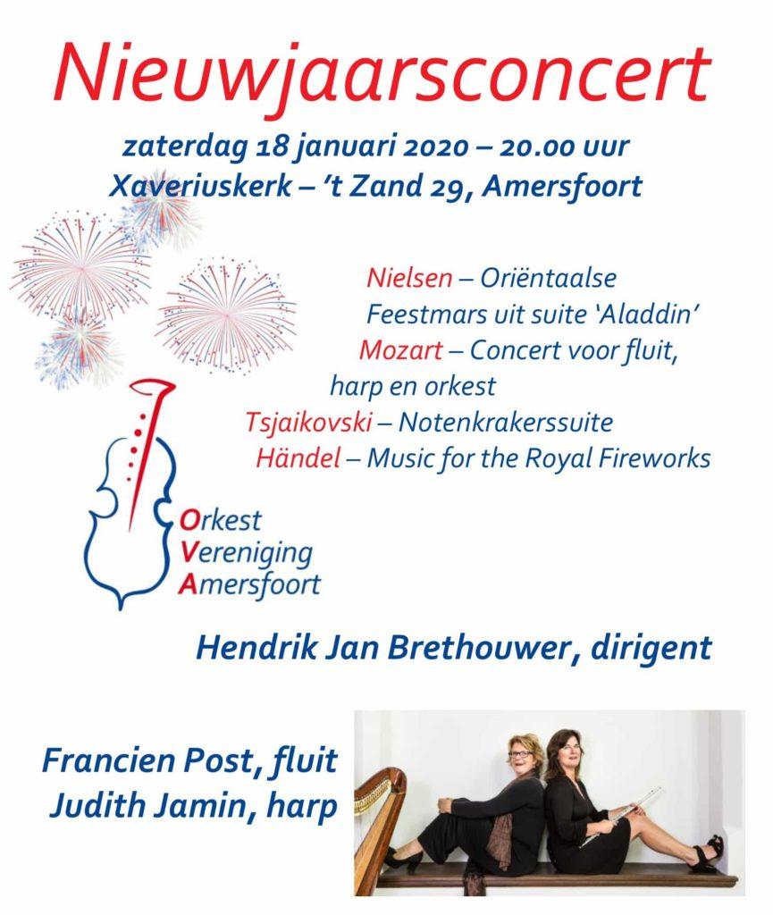 Nieuwjaarsconcert: Orkestvereniging Amersfoort @ St Franciscus Xaveriuskerk